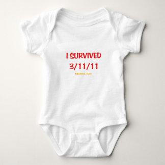 Jag överlevde 3/11/11 tröjor