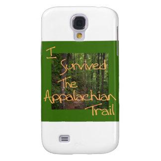 Jag överlevde den Appalachian slingagulten Galaxy S4 Fodral