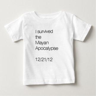 Jag överlevde den Mayan apokalypset 12/21/12 T-shirt