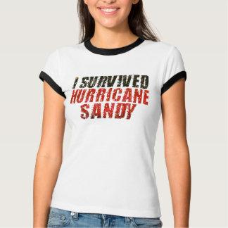 Jag överlevde den sandiga bekymrade T-tröja för T-shirt