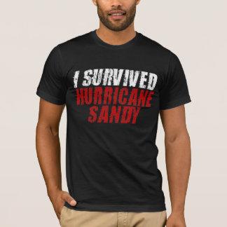 Jag överlevde den sandiga bekymrade T-tröja för Tee Shirt