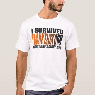 Jag överlevde den sandiga skjortan 2012 för tee shirts