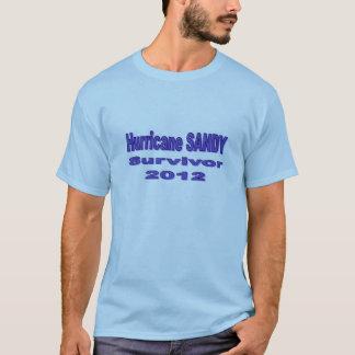 Jag överlevde den sandiga T-tröja för orkanen T Shirt