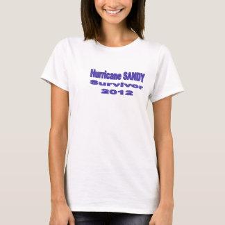 Jag överlevde den sandiga T-tröja för orkanen T Shirts