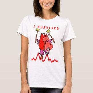 Jag överlevde en hjärtinfarkt tröjor