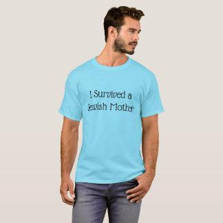Jag överlevde en humoristisk skjorta för judisk t shirt