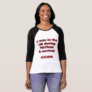Jag överlevde förödelse t-shirts