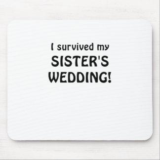Jag överlevde mitt gifta sig för systrar mus matta