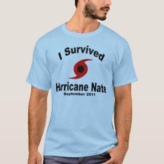 Jag överlevde orkanen Nate Tshirts