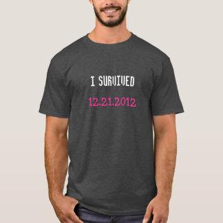 Jag överlevde skjortan tröjor