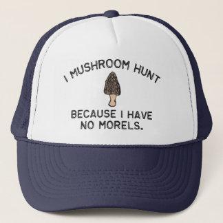 Jag plocka svamp jakt, därför att jag har inga keps