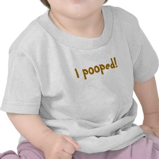 Jag pooped! t shirt