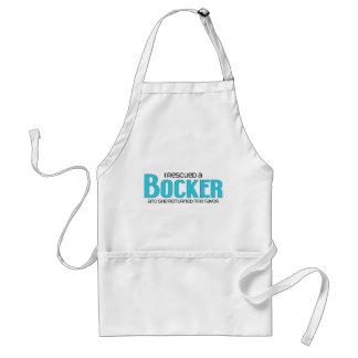 Jag räddade design för Bocker (en kvinnlig) Förkläde