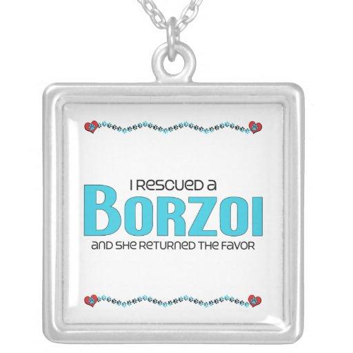 Jag räddade en Borzoi (den kvinnliga hunden) Personliga Halsband