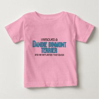 Jag räddade en Dandie Dinmont Terrier (den Male Tee Shirt