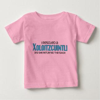 Jag räddade en Xoloitzcuintli (den kvinnliga T Shirt