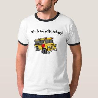 Jag rider bussen med den grabb! tee shirt