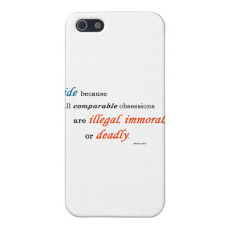Jag rider därför att… iPhone 5 skydd