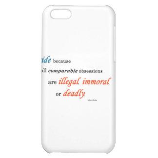 Jag rider därför att… iPhone 5C mobil fodral