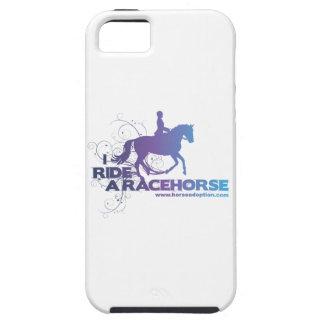 Jag rider en Racehorseiphone case iPhone 5 Case-Mate Skydd