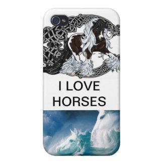 jag ringer hästar fodral iPhone 4 skal