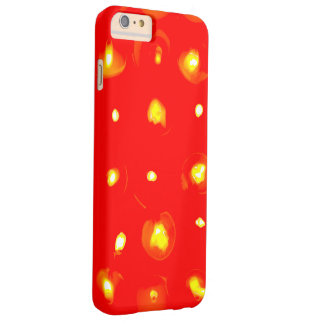 Jag ringer S6 det skyddande fodral med rött och Barely There iPhone 6 Plus Skal