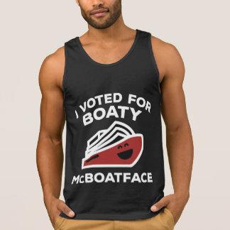 Jag röstade för Boaty McBoatface Tank Top