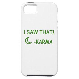 Jag sågar att rolig gåva för Karma iPhone 5 Case-Mate Fodraler