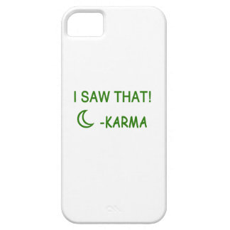 Jag sågar att rolig gåva för Karma iPhone 5 Fodraler