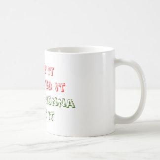 Jag sågar det, önskade jag det, frågade jag Nonna, Kaffemugg