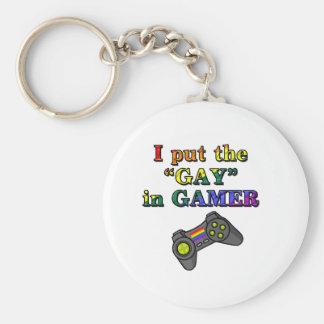 Jag satte BÖGEN i Gamer Rund Nyckelring