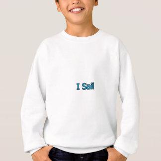 Jag seglar logotypen t shirt