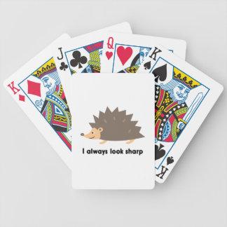 Jag ser alltid vass spelkort