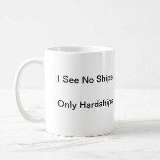 Jag ser inga frakter, endast strapatser kaffemugg