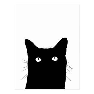 Jag ser katten klicka för att välja din färgdekor vykort