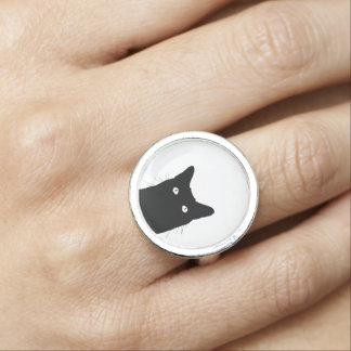 Jag ser katten klicka för att välja din ring