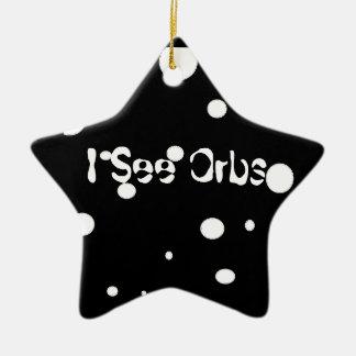 Jag ser Orbs-stjärnan prydnaden Julgransprydnad Keramik