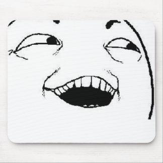 Jag ser vad du gjorde komiskt ansikte mus matta