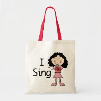 Jag sjunger kvinnliga Tshirts och gåvor Kassar