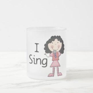 Jag sjunger kvinnliga Tshirts och gåvor Kaffe Muggar
