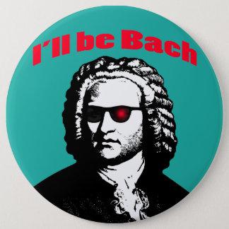 Jag ska är Bach Jumbo Knapp Rund 15.2 Cm