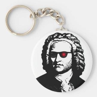 Jag ska är Bach Rund Nyckelring