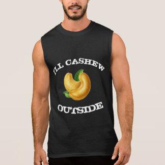 Jag ska cashewen utanför T Ärmlös T-shirt