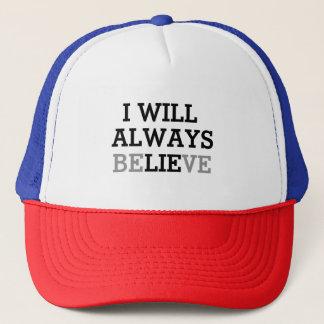 Jag ska den alltid tro hatten keps