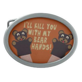 Jag ska får dig med min björnhänder