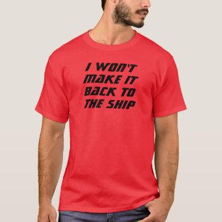 Jag ska för att inte göra det! tshirts