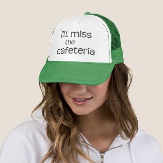 Jag ska Fröcken kafeterian - roligt ordstäv Truckerkeps
