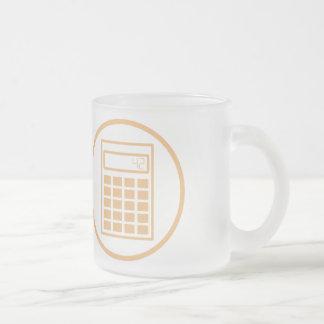 Jag ska fruktdryck dig med min math frostad glasmugg
