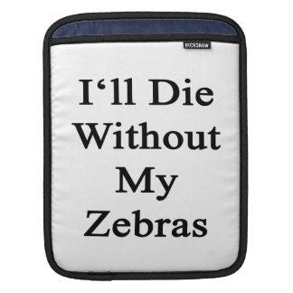 Jag ska matrisen utan min zebror sleeves för iPads
