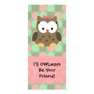 Jag ska OWLways är din vän Reklamkort